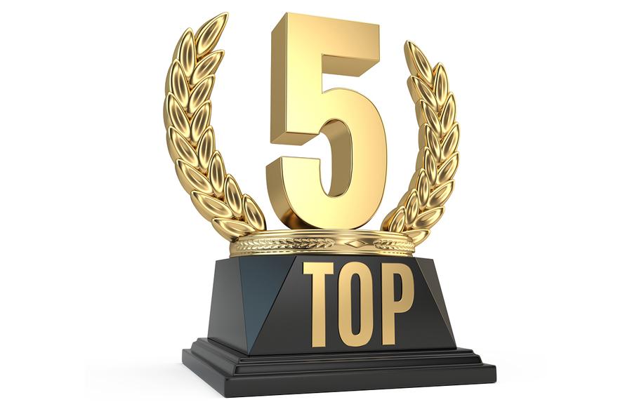 Resultado de imagen para Top 5