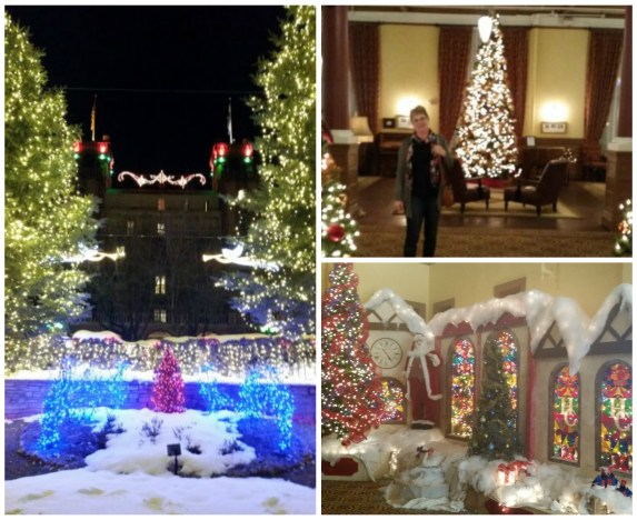 Christmas in mid-January at Hotel Colorado!