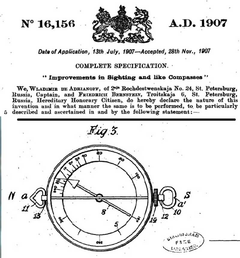 Marching compasses 1