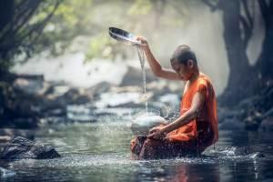 Water bearer Aquarius image