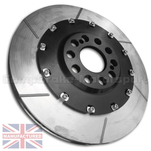 small resolution of vw polo s2000 355 x 28mm front 2 piece floating brake disc conversion kit bell rotor combo pair 2 piece disc conversions vw polo www compbrake com