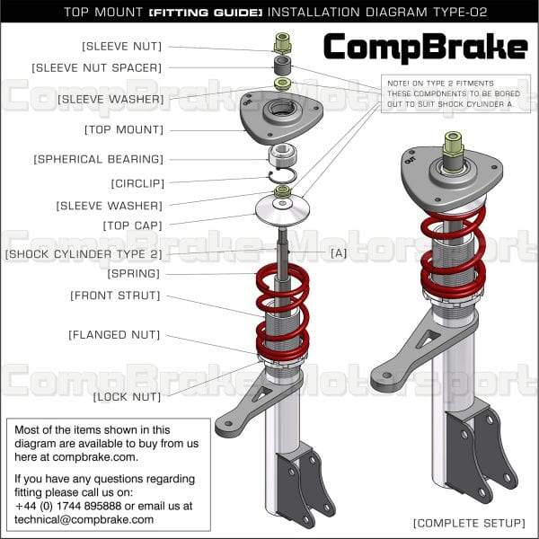 ford ka front suspension diagram sony xplod cdx gt210 wiring fiesta mk4 5 fixed top mount pair