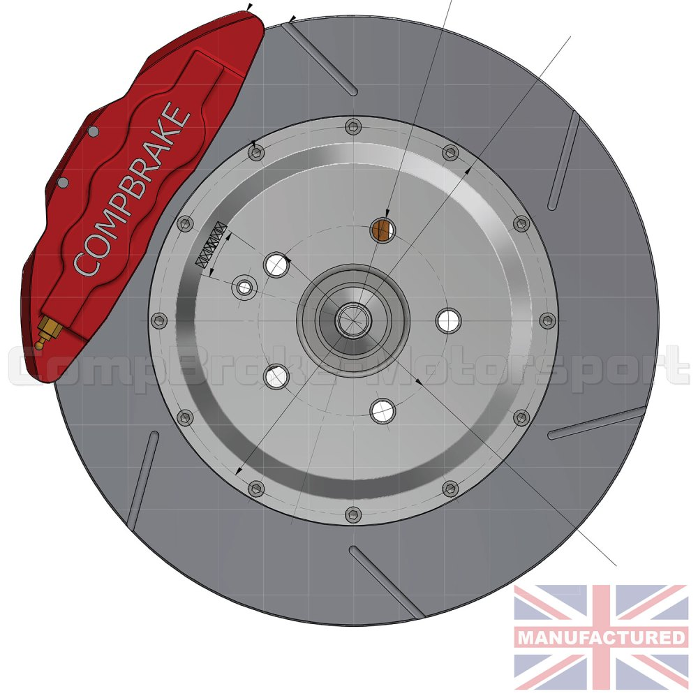 medium resolution of mercedes cl500 front 18 brake kit 6 pot calipers pro race 6 350mm x 32mm rotors brake discs 5 stud mercedes cl500 brake kits front brake kits