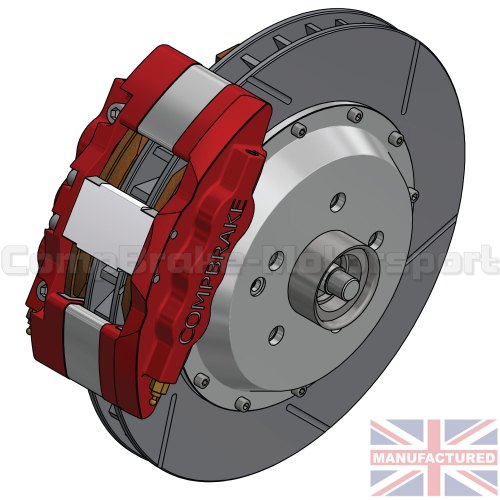 small resolution of mercedes cl500 front 18 brake kit 6 pot calipers pro race 6 350mm x 32mm rotors brake discs 5 stud mercedes cl500 brake kits front brake kits