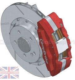 mercedes sl500 rear 17 brake kit 6 pot calipers pro race 11 330mm x 32mm rotors brake discs 5 stud sl500 brake kits rear brake kits mercedes  [ 1500 x 1500 Pixel ]