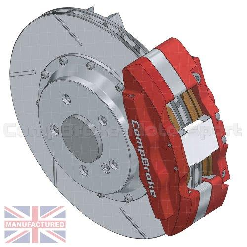 small resolution of mercedes sl500 rear 17 brake kit 6 pot calipers pro race 11 330mm x 32mm rotors brake discs 5 stud sl500 brake kits rear brake kits mercedes