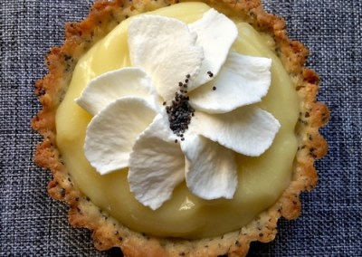 Lemon Poppy Seed Tartlets
