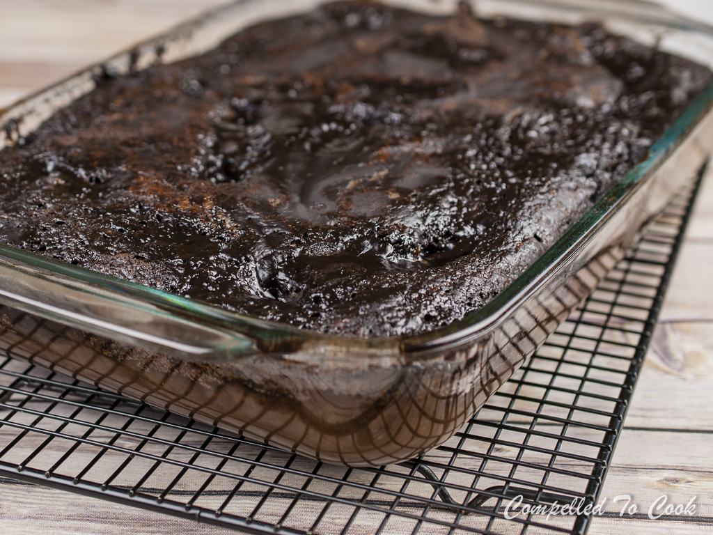 Chocolate Pudding Cake - Compelled To Cook