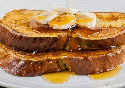Cardamom Banana Bread French Toast