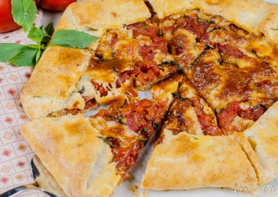 Roasted Tomato Galette