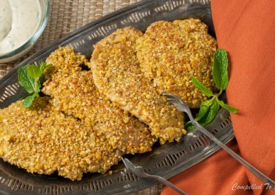 Dukkah Crusted Pork Cutlets