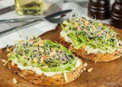 Fresh Asparagus Toast