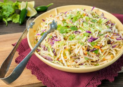 Asian Kohlrabi Slaw