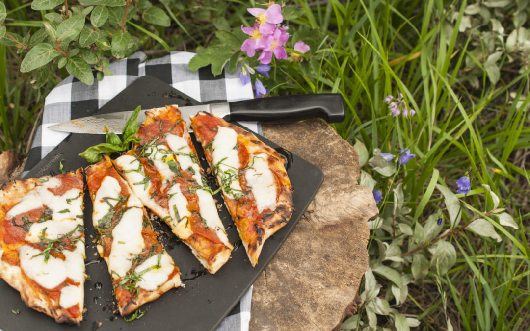 Grilled Riverside Pizza