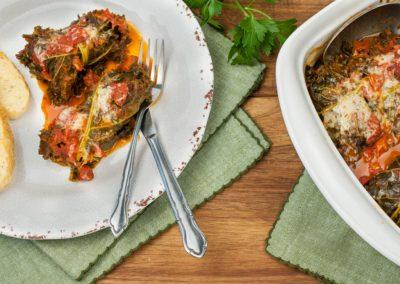 Italian Turkey Kale Rolls