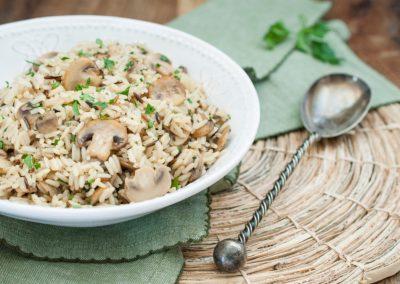 Mushroom Herb Rice