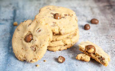 Chocolate Crunch Peanut Butter Cookies
