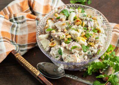 Zahtar Potato Salad