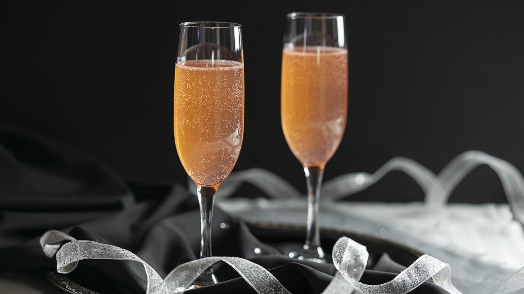 Apricot Brandy Sparkler