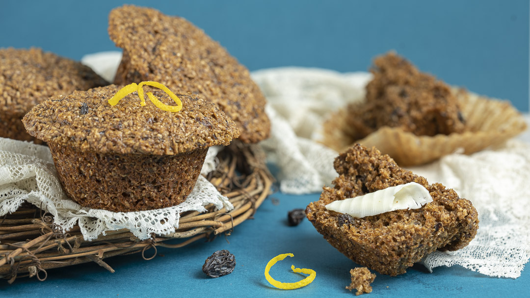 Toasted Bran Muffins
