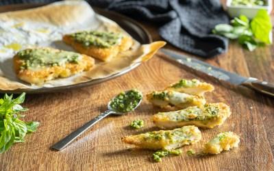 Breaded Pesto Chicken Cutlets