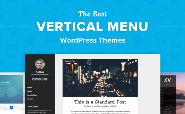 The 5 Best Vertical Menu Wordpress Themes For 2019