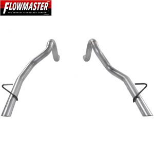 Flowmaster Tailpipe Kit, 16 Gauge Aluminized Steel, 86-93