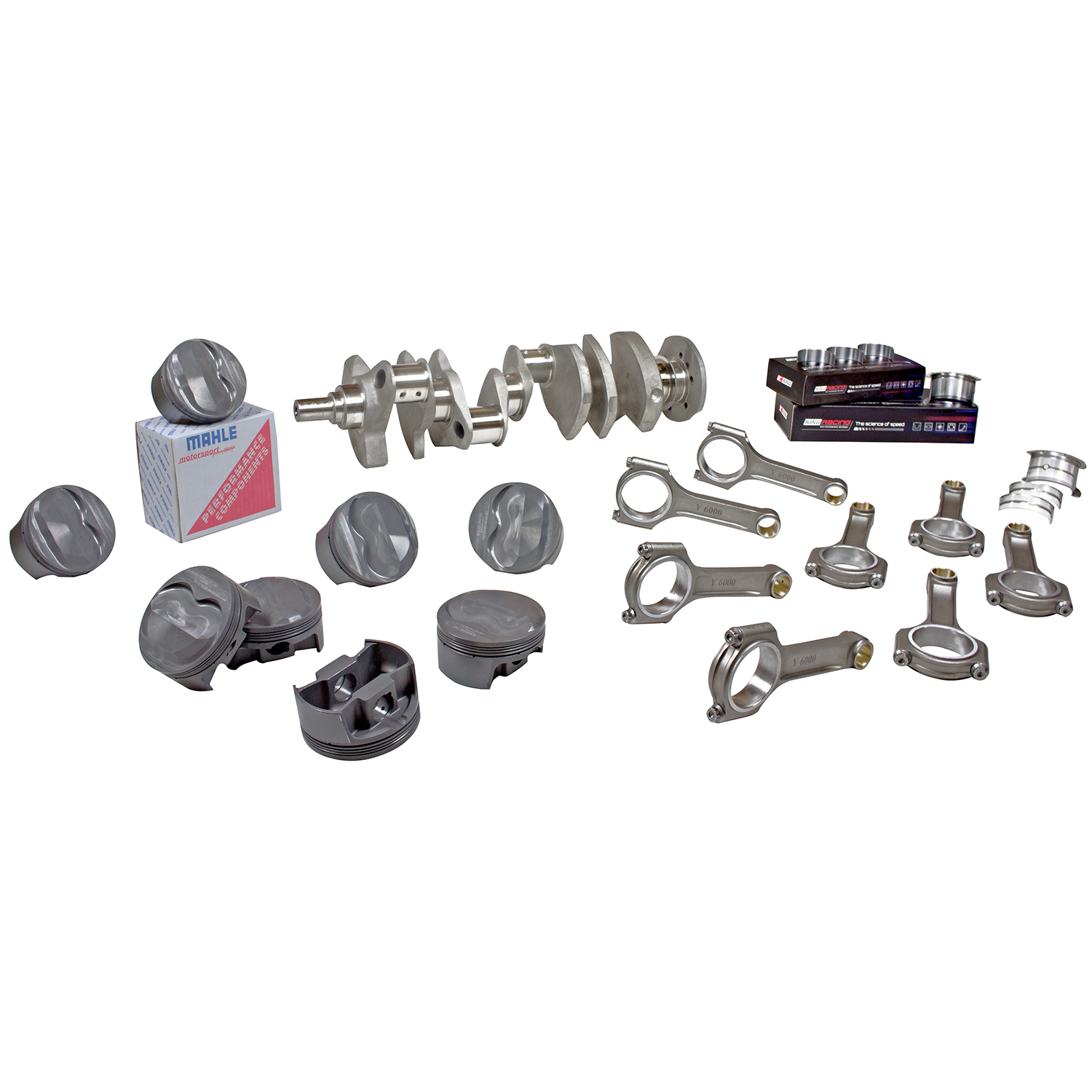 Forged Race Assembly Chev Bb 540 4 250 Stroke 6 385