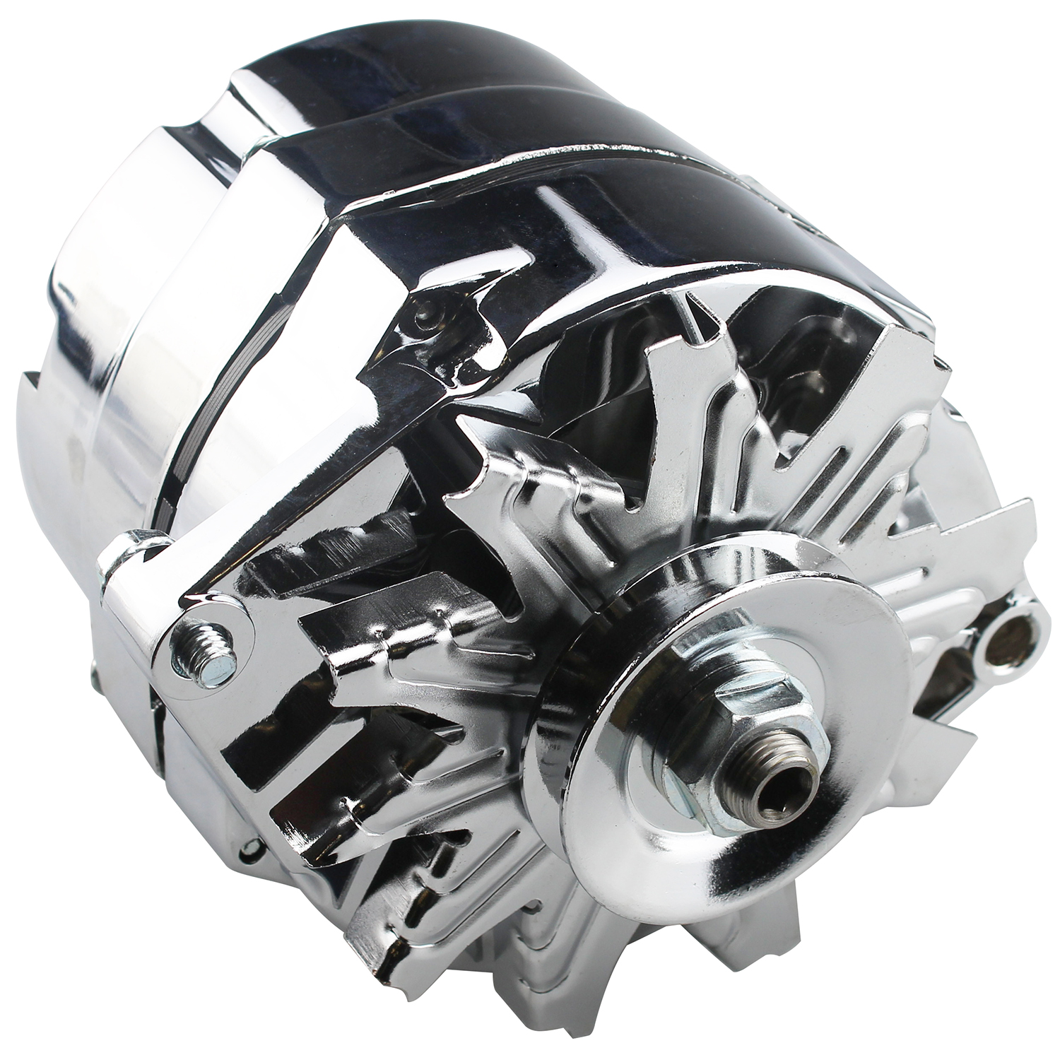 hight resolution of power products high output 1 wire alternator gm 100 amp 10si case chrome