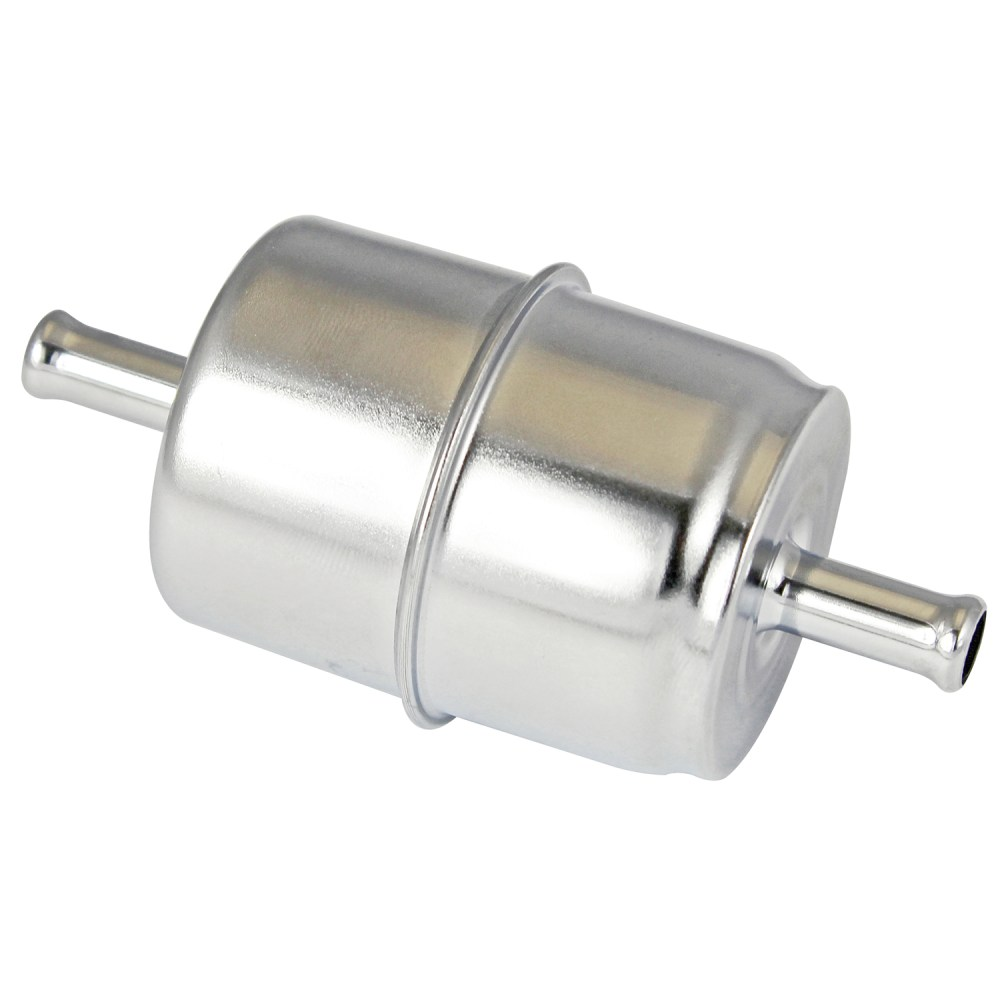 medium resolution of power products chrome inline fuel filter 3 8 inlet outletpower products chrome inline