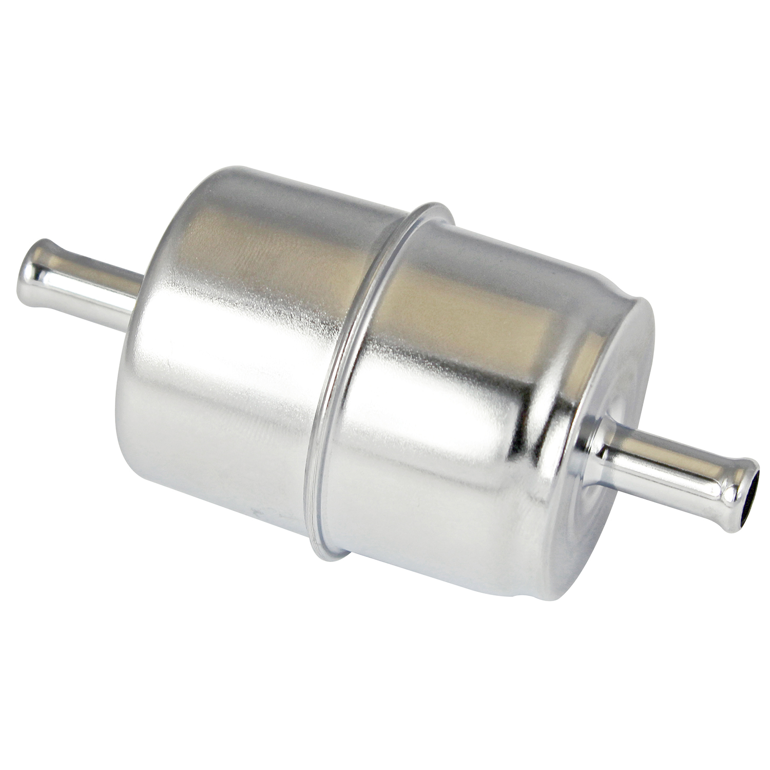 hight resolution of power products chrome inline fuel filter 3 8 inlet outlet