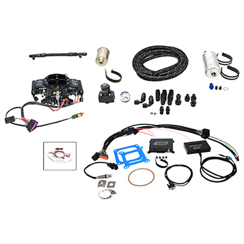 Quick Fuel Injection, (EFI) System Master Kit, Up to 525