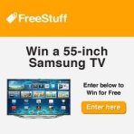 Win a Free Samsung Flat Screen TV