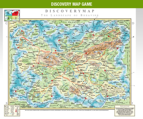 Discovery-Map-Game