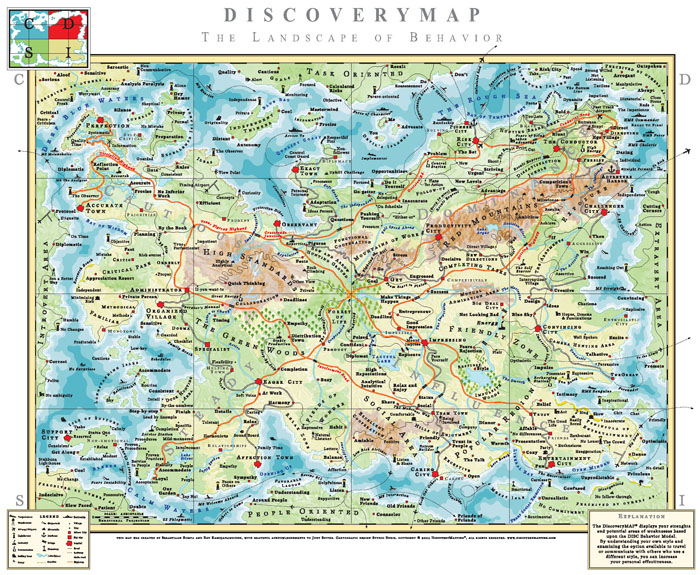 Discovery Map Game