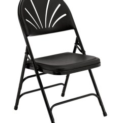 Vinyl Folding Lawn Chairs Chair Side Table With Storage National Public Seating Nps Plastic