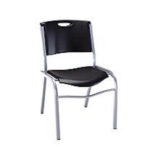 lifetime stacking chairs 2830 black molded seat chair cover rentals jacksonville fl on sale & free shipping