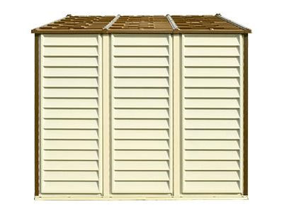 Duramax 30214 Vinyl Woodside 105x8 Shed On Sale With Free