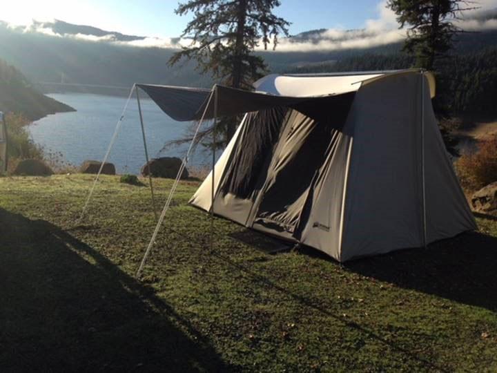 Kodiak Canvas Tent 6051 6Person 10x10 Ft Tent