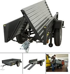 SO Lifetime Products 65003 New Folding Truck Trailer Fold
