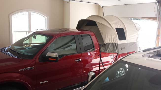 Kodiak Truck Bed Tent 7206 For 55 to 68 Ft Bends