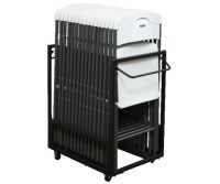 Lifetime Chair Carts 80279 Standing Folding Chair Rack