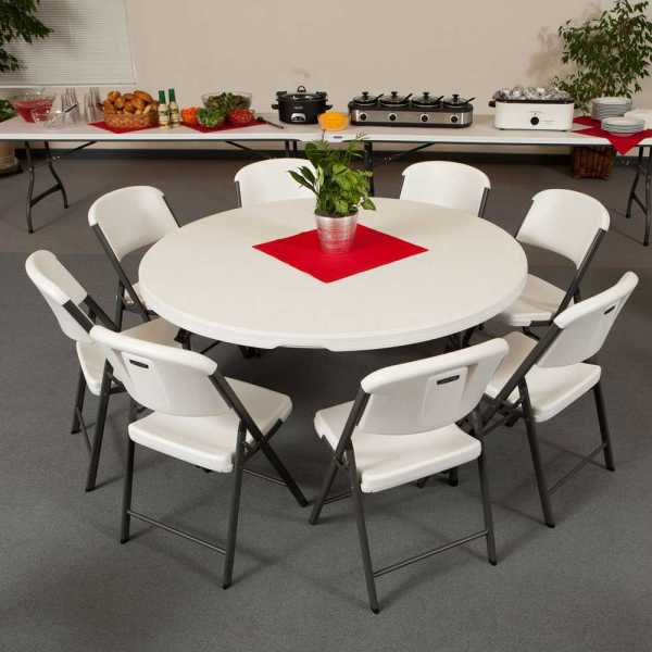 Lifetime 880301 5 Ft Banquet Tables 15-pack Ships Free