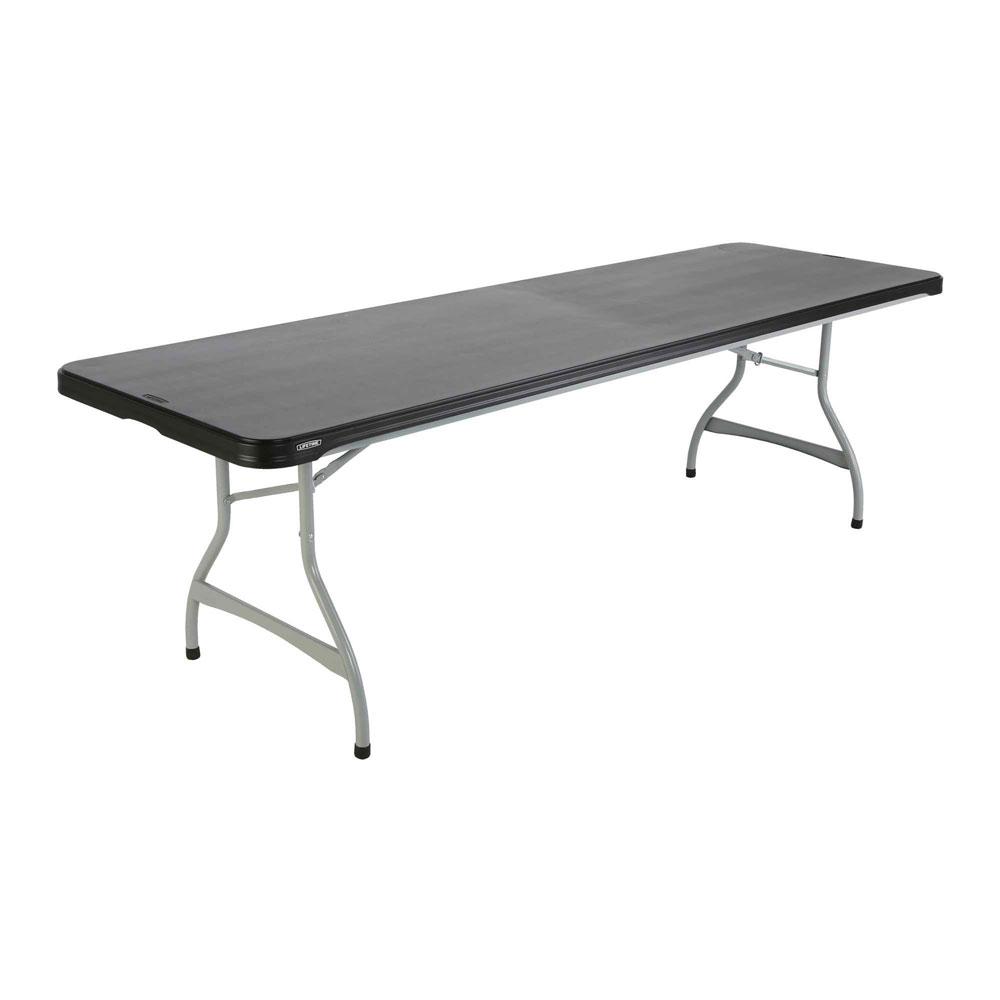 Lifetime 480462 Black Lifetime 8 4Pack Tables on Sale