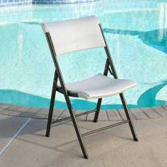 Folding Chair Lifetime Covers Queens 80372 Almond 34 Pack On Sale With