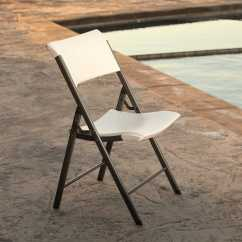 Folding Chair Lifetime Stool Box 80372 Almond 34 Pack On Sale With