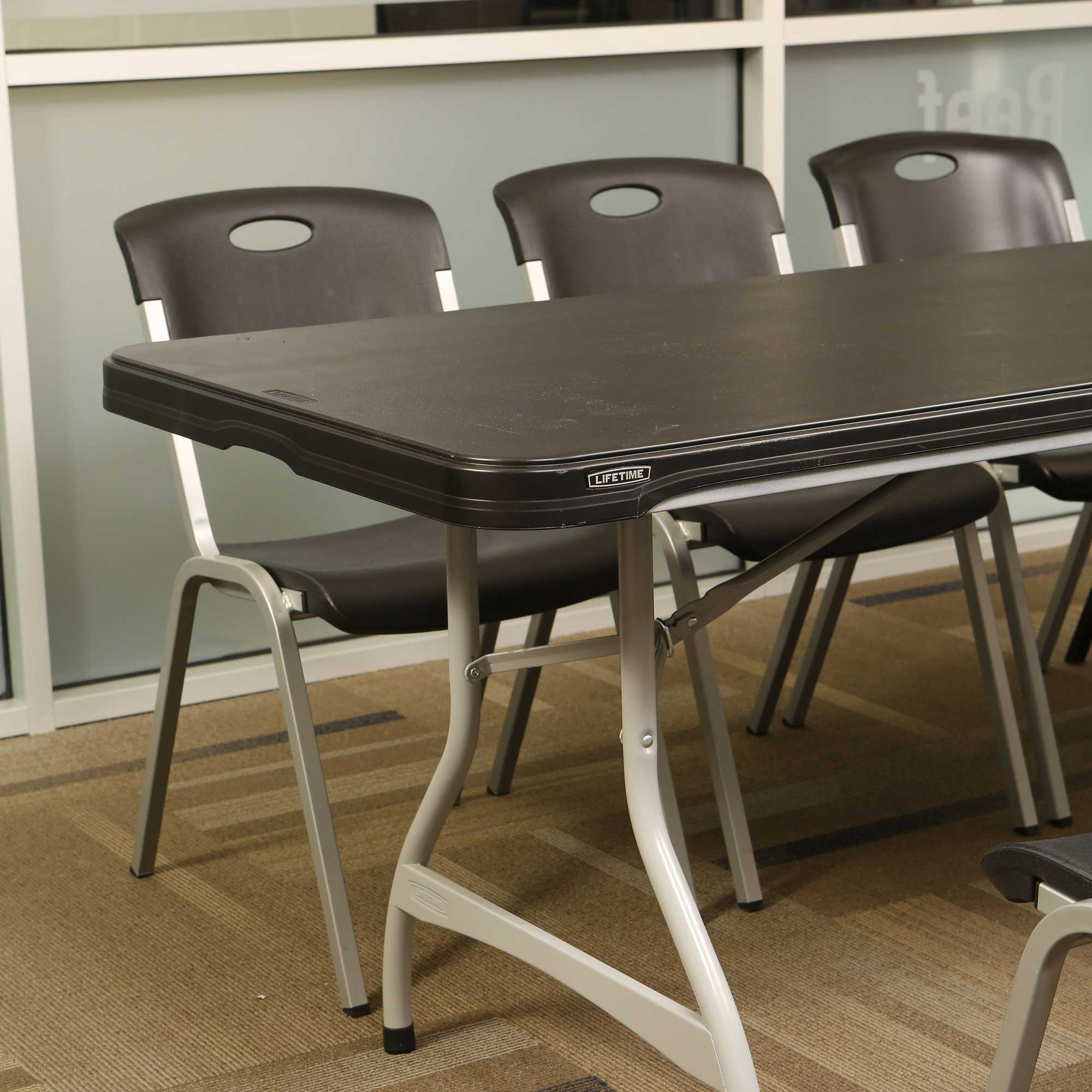 Lifetime 880462 Black 8 Table 27Pack on Sale with Free