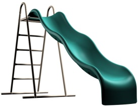 9 Stand Alone Childrens Slide Lifetime Products Earth Tone 90037
