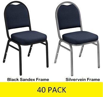 upholstered stacking chairs fred meyer 9254 40 pack midnight blue fabric dome back video assets images 2040pack jpg