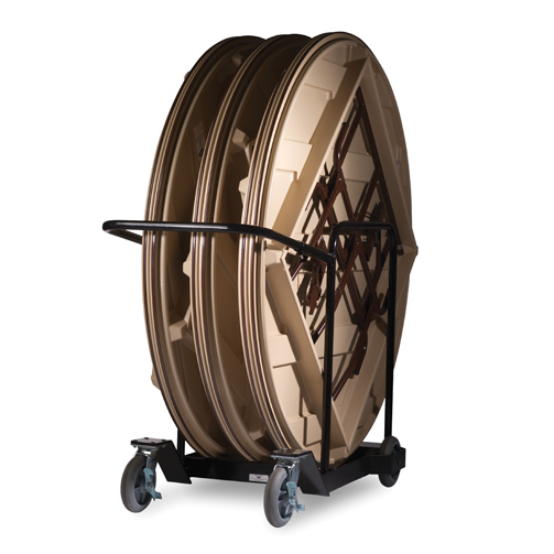 Mity Lite CT Cart Table Storage Cart for 72inch Round